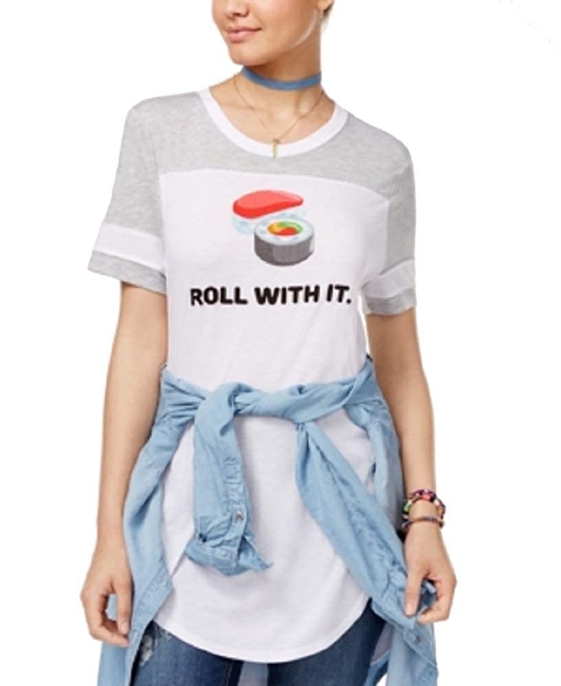 Freeze 24-7 Juniors Roll with It Graphic T-Shirt