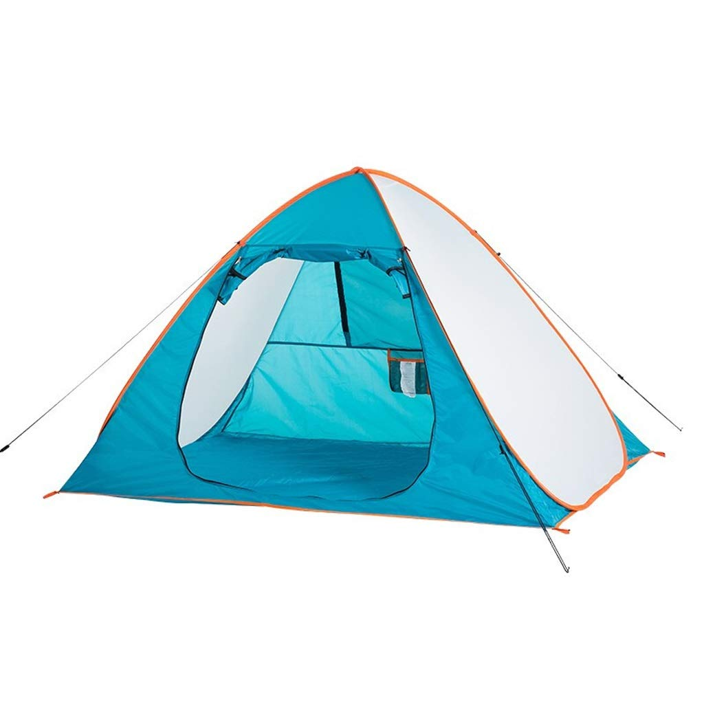 CHEXIAO テント、二重屋外テント、キャンプテント風と雨2-3人はテントを構築する必要はありません   B07QDJD8H4