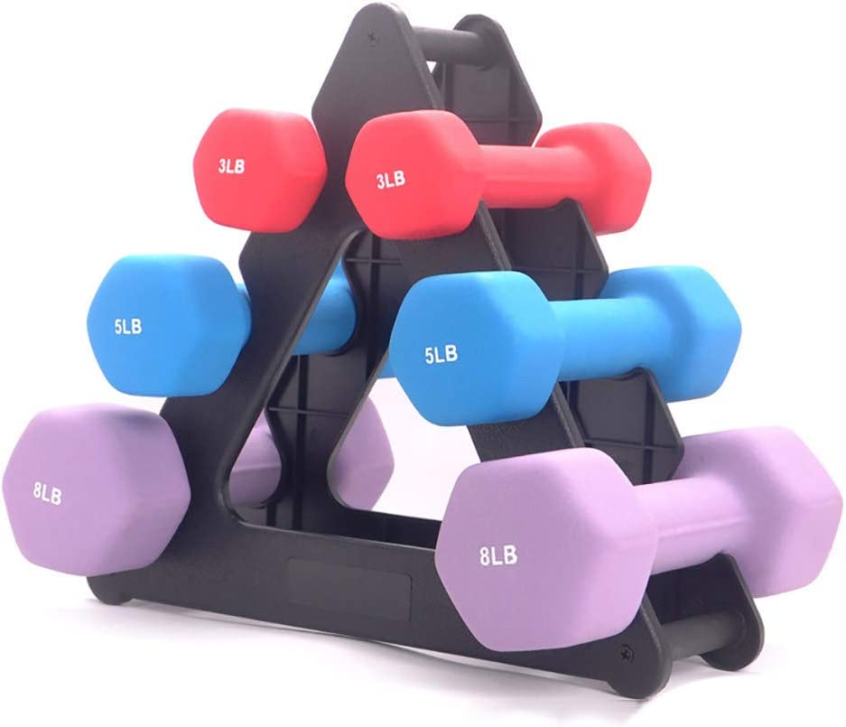 Neoprene Dumbbell Cap  5LBS Qty 2  Weight Workout Fitness Exercise  Barbell Shi