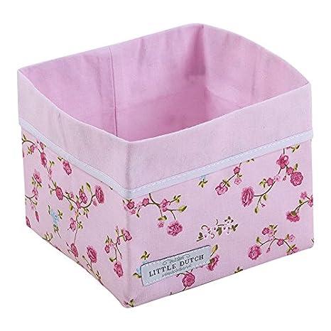 POCO HOLANDESA 5901 bebé canasta pequeña flor de color rosa ...