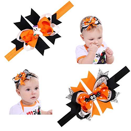 Halloween Headbands For Infants (Baby Girl Halloween Headbands,Hair Band Hair Accessories for Girls)