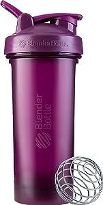 BlenderBottle Classic V2 Shaker Bottle, 28-Ounce, Plum