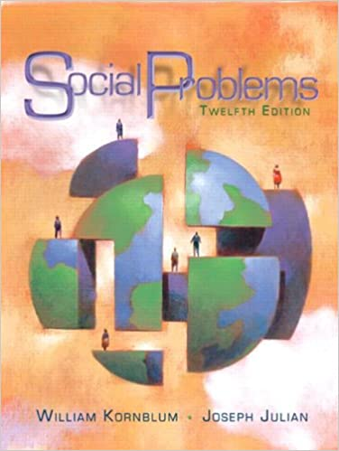 Book Social Problems (12th Edition)