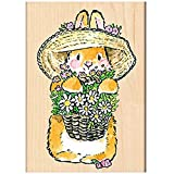 Penny Black Decorative Rubber Stamps, Bunny Bouquet