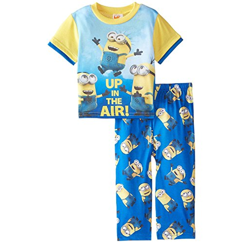 Despicable Me Little Boys' Toddler up in The Air 2-Piece Pajama Set, Blue, 2T