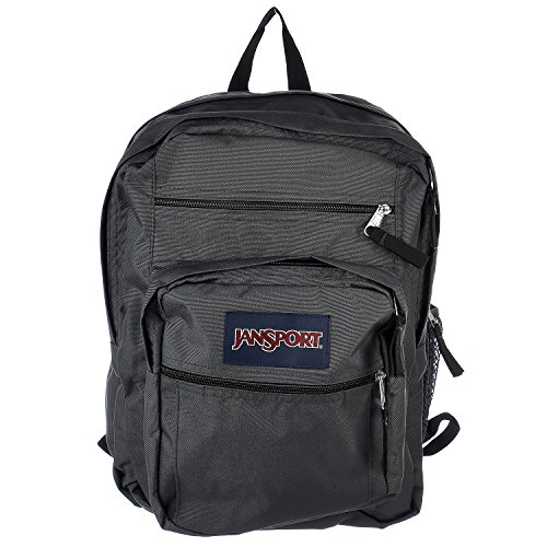 Jansport Big Student Classics Series Backpack   Forge Grey