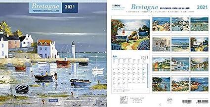 calendrier breton 2021 jl allain 30/30cm: Amazon.fr: Fournitures