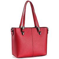 Tote Handbags,Joy&magiC Top Handle Satchel Handbags Shoulder Bag Women PU Leather Purse Tote Bag