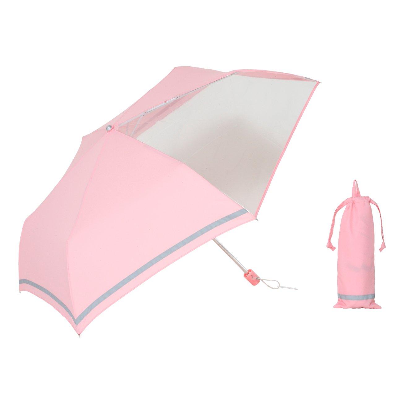 前が見えるミニ傘子ども用