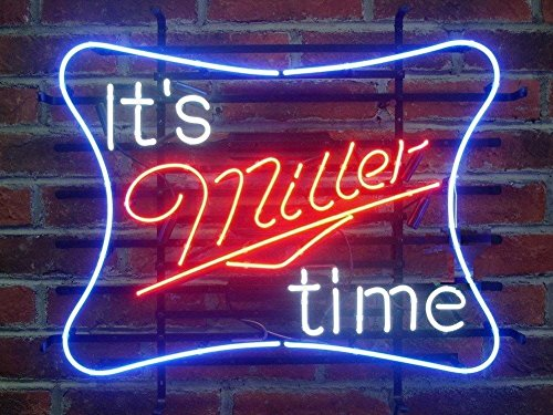 It's Miller Time Neon Sign 17