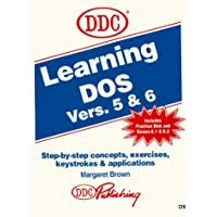 Learning Dos Version 5 & 6 (With Disk)