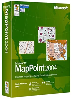 Microsoft MapPoint North American Maps 2004 [CD-ROM]
