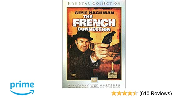 e15f9a52 Amazon.com: The French Connection (Five Star Collection): Gene Hackman, Roy  Scheider, Fernando Rey, Tony Lo Bianco, Marcel Bozzuffi, Frédéric de  Pasquale, ...
