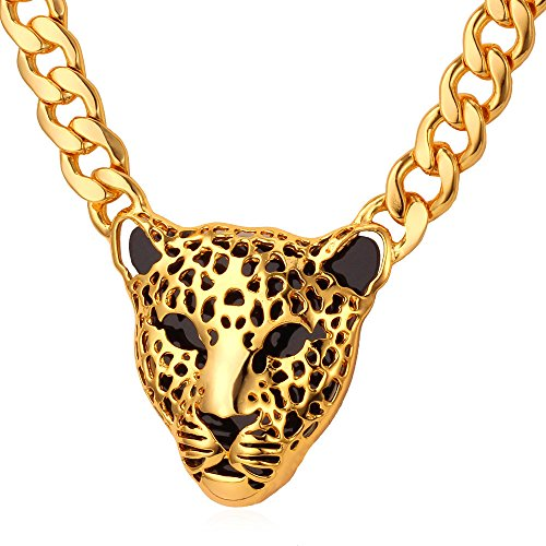 Leopard Pendant African Jewelry Necklaces