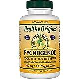 Healthy Origins Pycnogenol Veg Capsules, 100 mg, 120 Count (120 Count 100 mg)