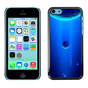 Stuss Case / Funda Carcasa protectora - Royal Blue Space - iPhone 5C