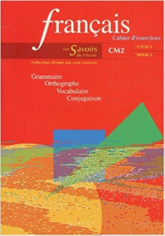 Amazon Fr Francais Cm2 Cahier D Exercices Hebrard