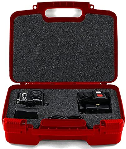 Life Made Better Storage Organizer -Compatible with Akaso EK7000 4K WIFI Sports Action Camera And Accessories- Durable Carrying Case - - Sj Speaker Cable