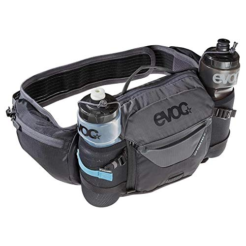 Evoc Hip Pack Pro Hydration Bag Black/Carbon Grey 3L + 1.5L Bladder