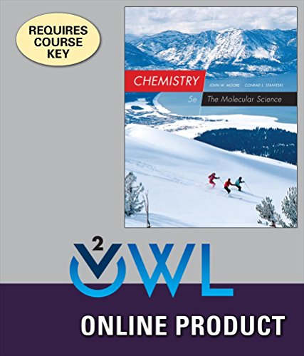 OWLv2 for Moore/Stanitski's Chemistry: The Molecular Science, 5th Edition