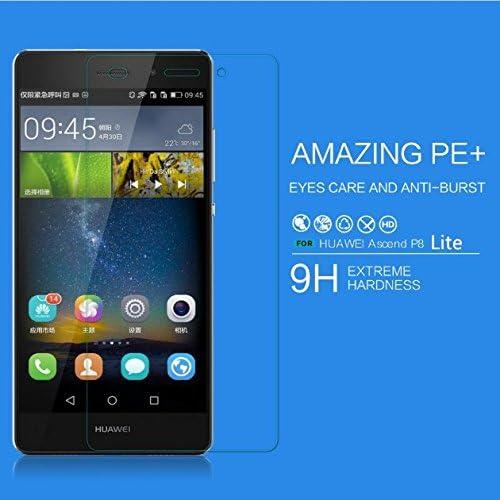Prevoa ® 丨 Original PROTECTOR de PANTALLA CRISTAL TEMPLADO para Huawei P8 Lite 5.0 Pulgadas Smartphone vidrio: Amazon.es: Electrónica