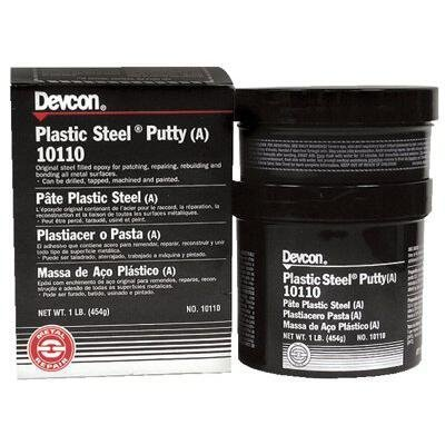 Devcon 10130 Gray Plastic Steel Putty (A), 25 lb. by Devcon