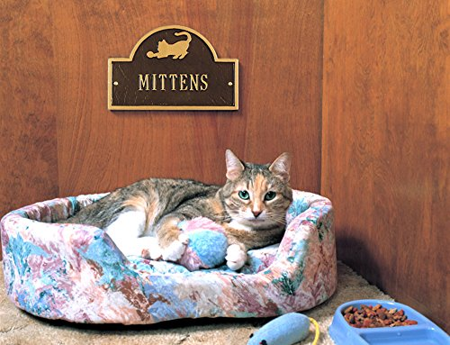 5012 - Personalized One Line Pet Cat Mini Arch Wall Marker