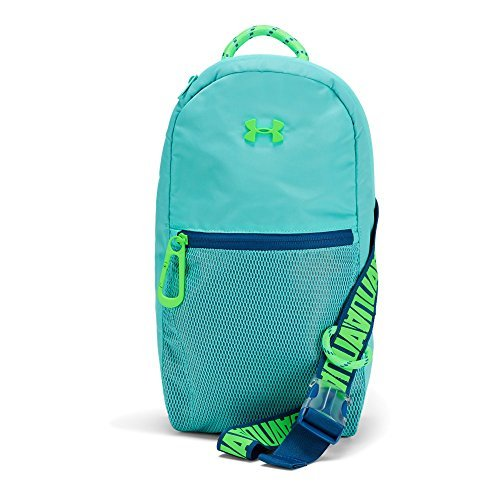 Under Armour Girls' Downtown Sling, Tropical Tide (425)/Arena Green, One Size [並行輸入品] B07F4PG795