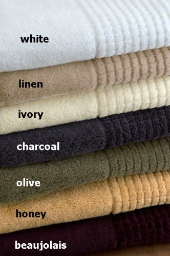 Ecstasy by Espalma Cotton Oversized Bath Sheet - Charcoal