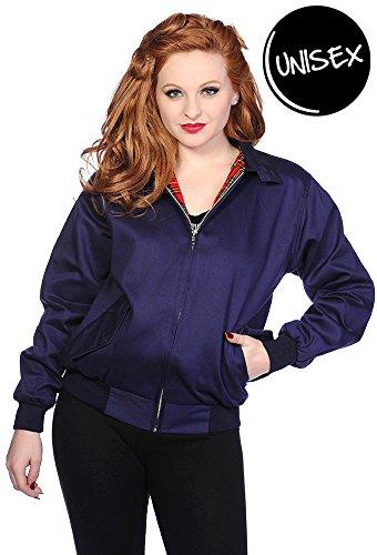 Banni Jacket Blue Harrington Harrington Jacket Blue Jacket Harrington Banni Banni Blue 6q1rqx5w