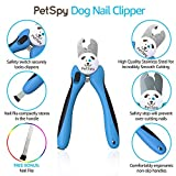 PetSpy Best Dog Nail Clippers and Trimmer with