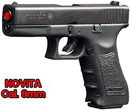 Pistola a Salve BRUNI GLOCK 17 Cal.9 Pak | Top Firing | Nera