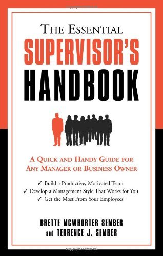 Amazon the essential supervisors handbook ebook brette the essential supervisors handbook by sember brette mcwhorter terrence j sember fandeluxe Choice Image