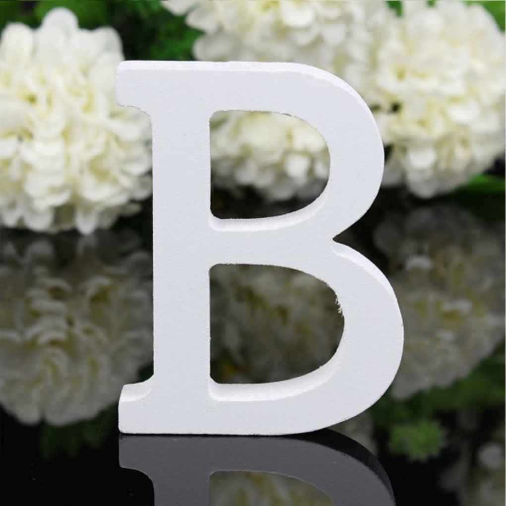 Meisijia 26 Groß e Holzbuchstaben Alphabet Wandbehang Hochzeit Home Shop Dekoration