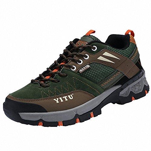 Ben Sports Chaussures De Randonnée Trail Running Homme Femme,36-45 Vert