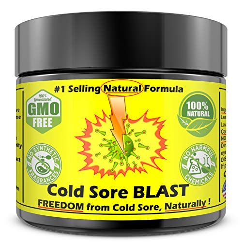 COLD SORE Treatment Cream Ointment 100% NATURAL PLANT BASED Cold Sore Care. Outbreaks CLEANSED EFFECTIVELY as Bandage Lip Balm Relief. Stronger than Gel Lysine Mouth Medicine FASTER Remedy BUY NOW! (Fastest Way To Heal Cold Sore On Lip)