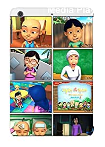 Hard Plastic Ipad Mini/mini 2 Case Back Cover, Hot Jiwang Torrent Toon Jwg Upin Ipin Dan Kawan Kawan 5e4 Ikhlas Case For Christmas's Perfect Gift