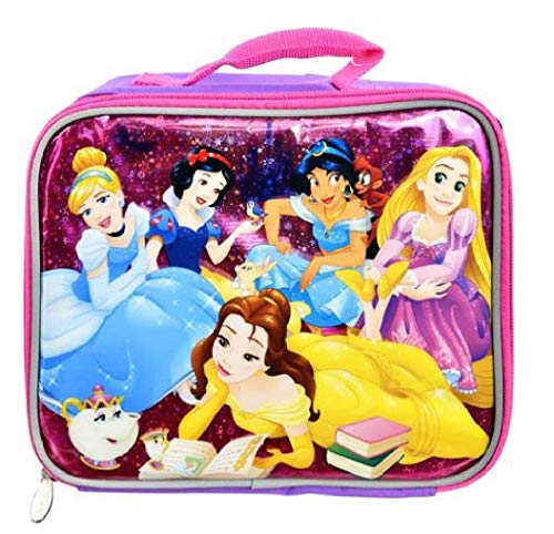 Princess Lunch Bag - UPD Disney Princess Rectangle Lunch Bag, Small, Multicolor
