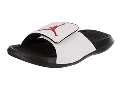 7ca68f2f20f Jordan Hydro 6 Men's Slides White/Black/Gym Red 881473-101 (11