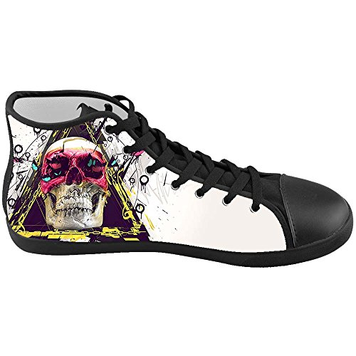 Dalliy Red Rose And Skull Kids Canvas shoes Schuhe Footwear Sneakers shoes Schuhe E
