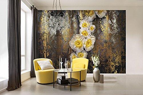 (Komar 8-963 Abstract Serafina Wall Mural, Yellow)
