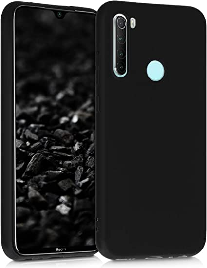 Amazon Com Kwmobile Tpu Silicone Case Compatible With Xiaomi Redmi Note 8 Soft Flexible Protective Phone Cover Black Matte
