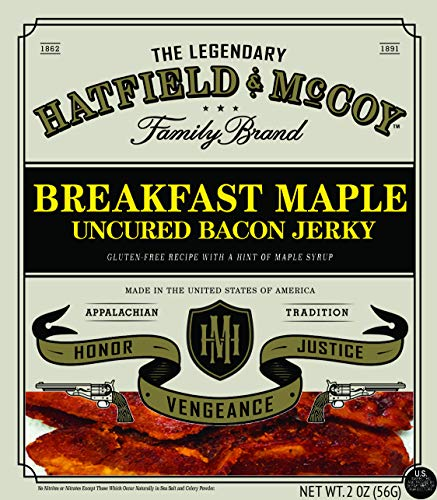Hatfield & McCoy Breakfast Maple Bacon Jerky ()