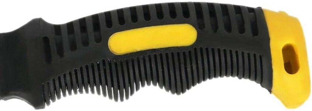 Supertool Mini marteau /à panne fendue incurv/ée avec poign/ée antid/érapante souple pour travaux manuels 283,5 g
