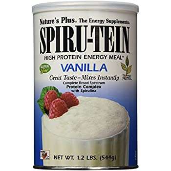 Nature's Plus - Vanilla SPIRU-TEIN Shake, 1.2 lbs