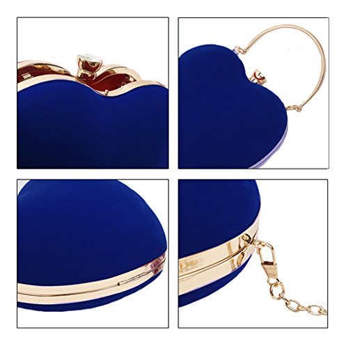 femme Bleu AiSi Pochette AiSi Pochette pour wqnUxa87n