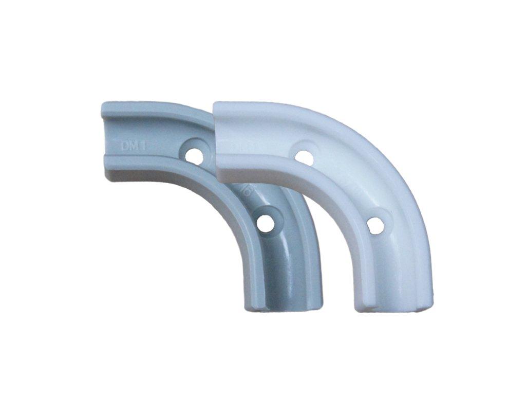 Side By Side Kühlschrank Wasserschlauch Verlegen : Winkel 90 grad für 1 4 zoll schlauch zum verlegen um die ecken ohne