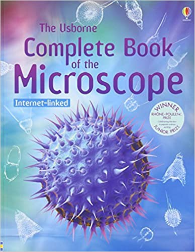 Book Complete Book of the Microscope (Usborne Internet-linked Reference)