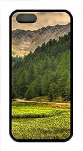 iPhone 5 5S Case landscapes nature 80 TPU Custom iPhone 5 5S Case Cover Black