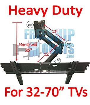 Full Motion Tv Wall Mount for Screen Sizes 37 42 46 50 52 55 60 65